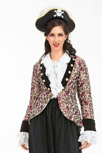 Women's Loi Chai-san Privateer Brocade Coat , finest fabric, handmade, nice!