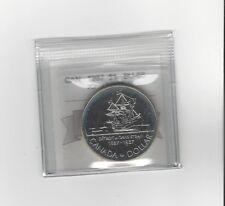 **1987 John Davis**Coin Mart Graded Canadian Silver Dollar**BU-66**
