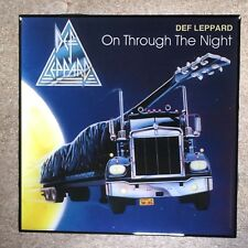 DEF LEPPARD On Through The Night Coaster