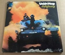 URIAH HEEP ~ Salisbury ~ UK VERTIGO SWIRL 1971 1ST PRESS 1Y 11 3 / 2Y 11 5 EX