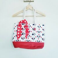 Disney Minnie Mouse Beach Tote Girls Child New