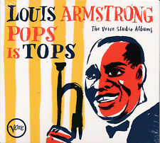 Louis Armstrong Pops Is Tops The Complete Verve Studio Albums and More CD NEW