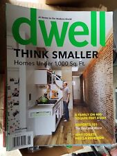 Dwell Magazine June 2009 - Think Smaller -  Homes Under 1,000 Sq. Ft.