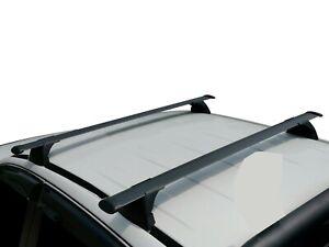 Alloy Roof Rack Cross Bar for ISUZU D-Max 2020-21 Lockable Black 135cm