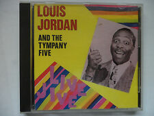 LOUIS JORDAN AND THE TYMPANY FIVE CD - LIVE JIVE