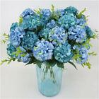 10heads Artificial Silk Hydrangea Fake Flowers Bouquet Bunch Party Home Decor Co