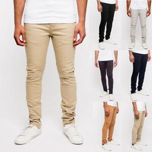 Victorious Men's Super Skinny Fit Stretch Colored Denim Jeans Pants      DL1001