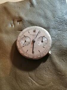 Baume et mercier  prima chronographe  valjoux 22