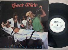 DISCO LP GREAT WHITE - RECOVERY: LIVE! - 1987 ENIGMA CANADA DI-73295 - NM/EX