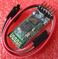 1PCS  SWireless Serial 6 Pin Bluetooth RF Transceiver Module HC05 RS232+ Cable