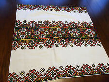 """VINTAGE KILIM STYLE HAND EMBROIDERED PILLOW COVER / SHAM - 21"""""""