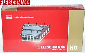 Fleischmann H0 6476 Ringlokschuppen-Bausatz 3-ständig - NEU + OVP