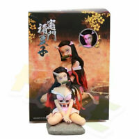 Demon Slayer Kimetsu no Yaiba Kamado Nezuko Sitting Q Ver. Figure Toy New