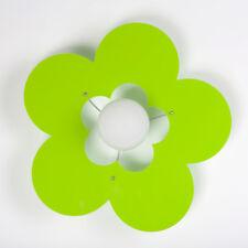Lampadaro fiore per cameretta Plafoniera in plexiglass vari colori a scelta 1E27