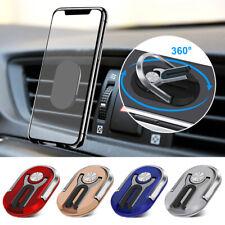 Multipurpose Cell Phone Bracket Finger Ring Car Mount Stand Holder 360° Rotation