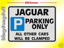 Jaguar Parking Sign Novelty Gift XJS X Type S Type