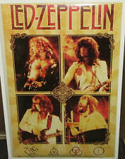 LED ZEPPELIN POSTER  RARE NEW NEVER OPENED  VINTAGE PAGE BONHAM