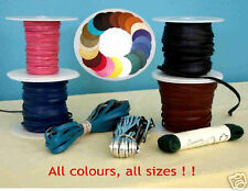 """Leather Lace - 1/8"""" (3mm) World's Best 10m"""