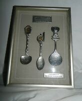 VTG Frame Brass 1988 Seoul Korea Olympic Games Souvenir Spoons Commemorative Set