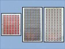 Christmas 1969 Full Set in Complete Sheets UNMOUNTED MINT