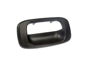 Replacement 76106 Tailgate Handle Bezel Cover - Black - For GM