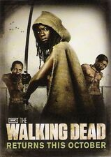 SDCC San Diego Comic Con AMC Walking Dead Card Michonne Danai Gurira Zombie Pets