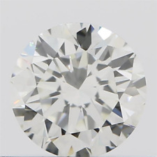 0,41ct natural round brilliant h loupe-clean ex ex ex certificate and sealed