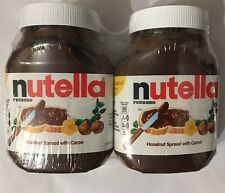 Nutella Ferrero  Hazelnut Spread 2 Pack 4.2 lbs (Free Expedited Shipping)