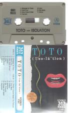 Toto Isolation cassette K7 tape Label 747