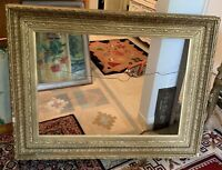 "Huge/Large Antique Wooden Gold Git Picture Art Frame (50.5"" x 38.75"")"