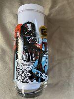 Vintage NEW 1980 Star Wars Empire Strikes Back Darth Vader BK Glass Coke