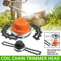 65Mn Grass Chain Trimmer Head Whipper Snipper Brushcutter Brush Cutter Garden