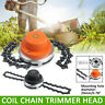 65Mn Grass Chain Trimmer Head Whipper Snipper Brushcutter Brush Cutter Garden