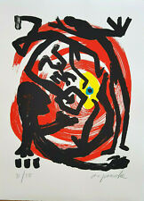 """A. R. PENCK """"Dresden 1992 Blatt 3"""" ORIGINAL SIEBDRUCK nummeriert & handsigniert"""