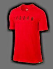Nike Air Jordan Jumpman Aj6579-687 Men'S 2Xl Stunning Red Ss Shirt New With Tags