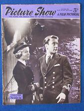 Picture Show Magazine - 25/4/1953 - Virginia McKenna & Donald Sinden Cover
