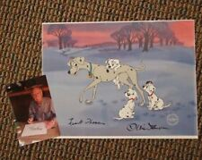 "S/O Disney ""Perdita and Her Pups"" 101 Dalmatians Cel Art Thomas Johnston UF"