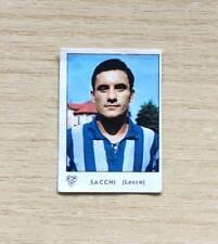 """FIGURINE PANINI """"CALCIATORI 1964-65"""" -  SACCHI / ........  -  LECCO - REMOVED"""