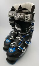Used SALOMON XPro Energizer 120 Mens Ski Boots 27/27.5 Black/Blue