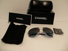 Authentic chanel sunglasses 4194 Q 54 14 blue lenses new with box