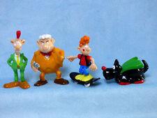 Superjhemp 4 Figuren Serie Luxemburg Comic  Czuga & Leiner Sammlerfiguren 6 cm