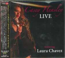 CASEY HENSLEY-LIVE FEATURING LAURA CHAVEZ-IMPORT CD WITH JAPAN OBI F30