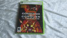 XBOX 360 Command & Conquer La Fureur de Kane Complet jeu vidéo en français