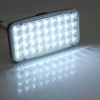1*Truck Auto 36LED 12V Interior Ceiling Dome Roof Lamp White Rectangle Lights