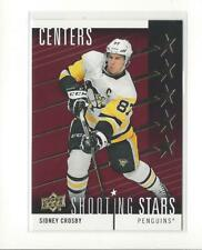 2019-20 Upper Deck Shooting Stars Centers Red #SSC2 Sidney Crosby Penguins