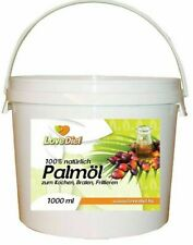 Palmöl Palmfett Palm Oil 1 x 1000ml im Eimer Kochen Braten