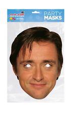 Richard Hammond Face Party Mask Card A4 Fancy Dress TV Car Top Gear Mens Kids