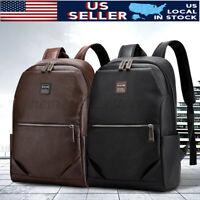 Men 15.6'' Laptop School Bag Backpack Handbag Business Travel Rucksack