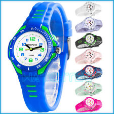 Analog children's wrist-watch XONIX, backlight, water resistant 100m