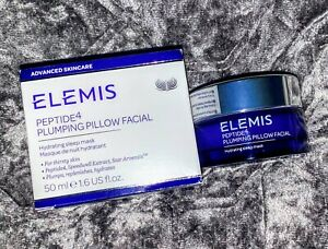 ELEMIS ~ PEPTIDE4 ~ Plumping Pillow Facial ~ Full Size ~ 50ml/1.6oz ~ New In Box